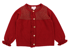 Noa Noa Miniature cardigan red dahlia